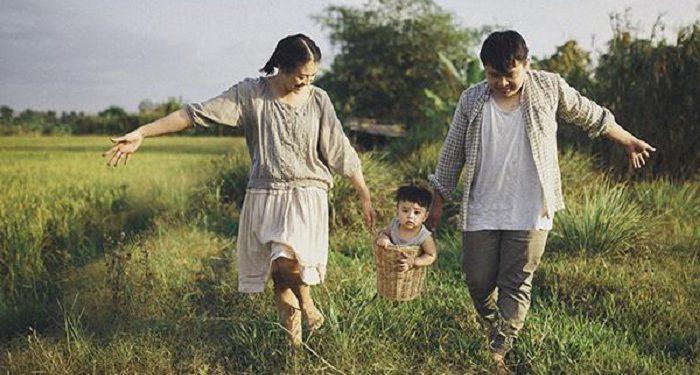 Nhân cách của trẻ được hình thành từ điểm tựa gia đình